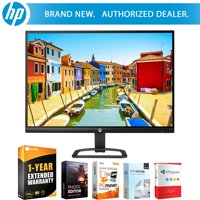 Hewlett Packard 27eb 27 16:9 IPS LED Backlit 1920 x 1080 PC Computer Monitor (Black) X3W27AA#ABA w/ Tech Smart USA Elite Suite 18 Standard Editing Software Bundle and 1 Year Extended Warranty