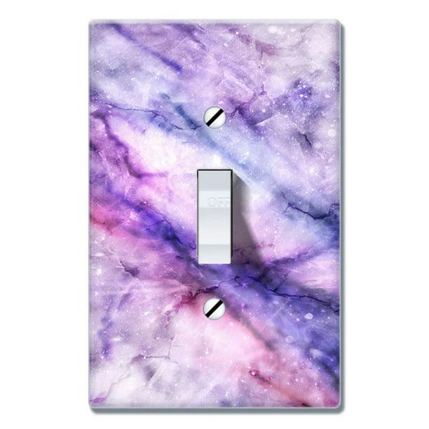 Wirester 1 Gang Toggle Wall Plate Switch Plate Cover Purple Fuchsia Marble Walmart Com Walmart Com