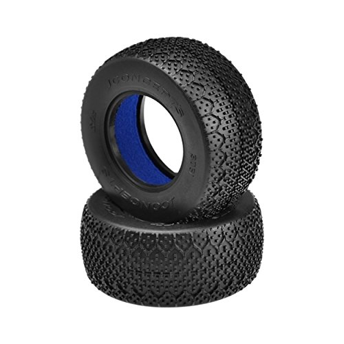 3D Short Course Truck Tire, Black Multi-Colored
