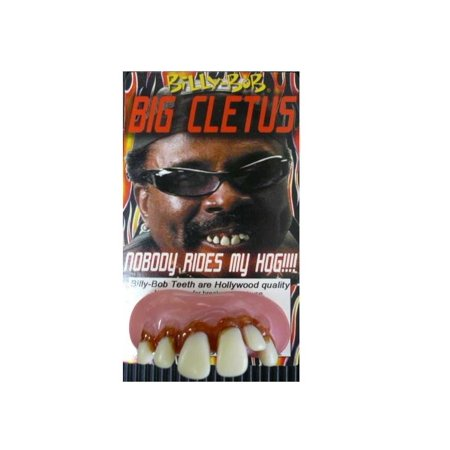 Big Teeth Halloween (Billy Bob Teeth Big Cletus Funny Fake Teeth)