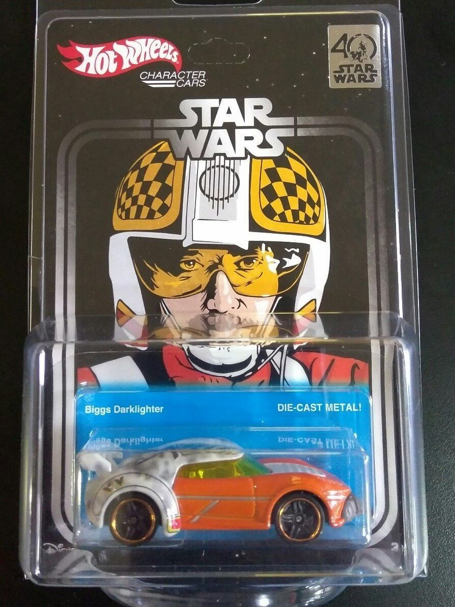 2017 Star Wars Hot Wheels Celebration Exclusive Biggs Darklighter Car by