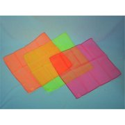 Everrich EVC-0056 17 x 17 Inch Rhythm Activities Scarves - Set of 3