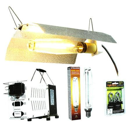 Hydrofarm 1000 Watt Hydroponic Indoor Grow Light Kit