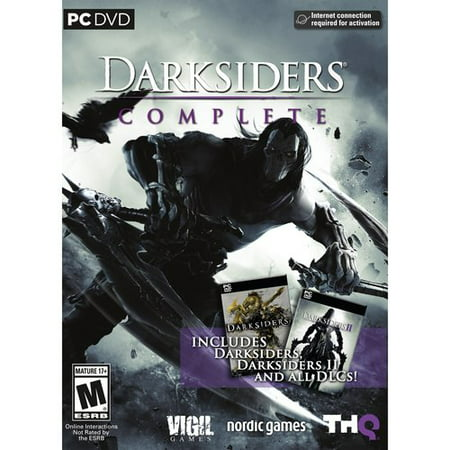 Darksiders Complete Includes Darksiders, Darksiders II and All DLCs (PC (The Last Of Us Remastered Dlc Included)