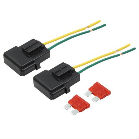 2pcs DC 32V Wire Fuse Holder Box w 10a Style Fuse for Car - image 6 of 6