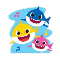 Baby Shark Swimming Cardboard Stand-Up, 4ft