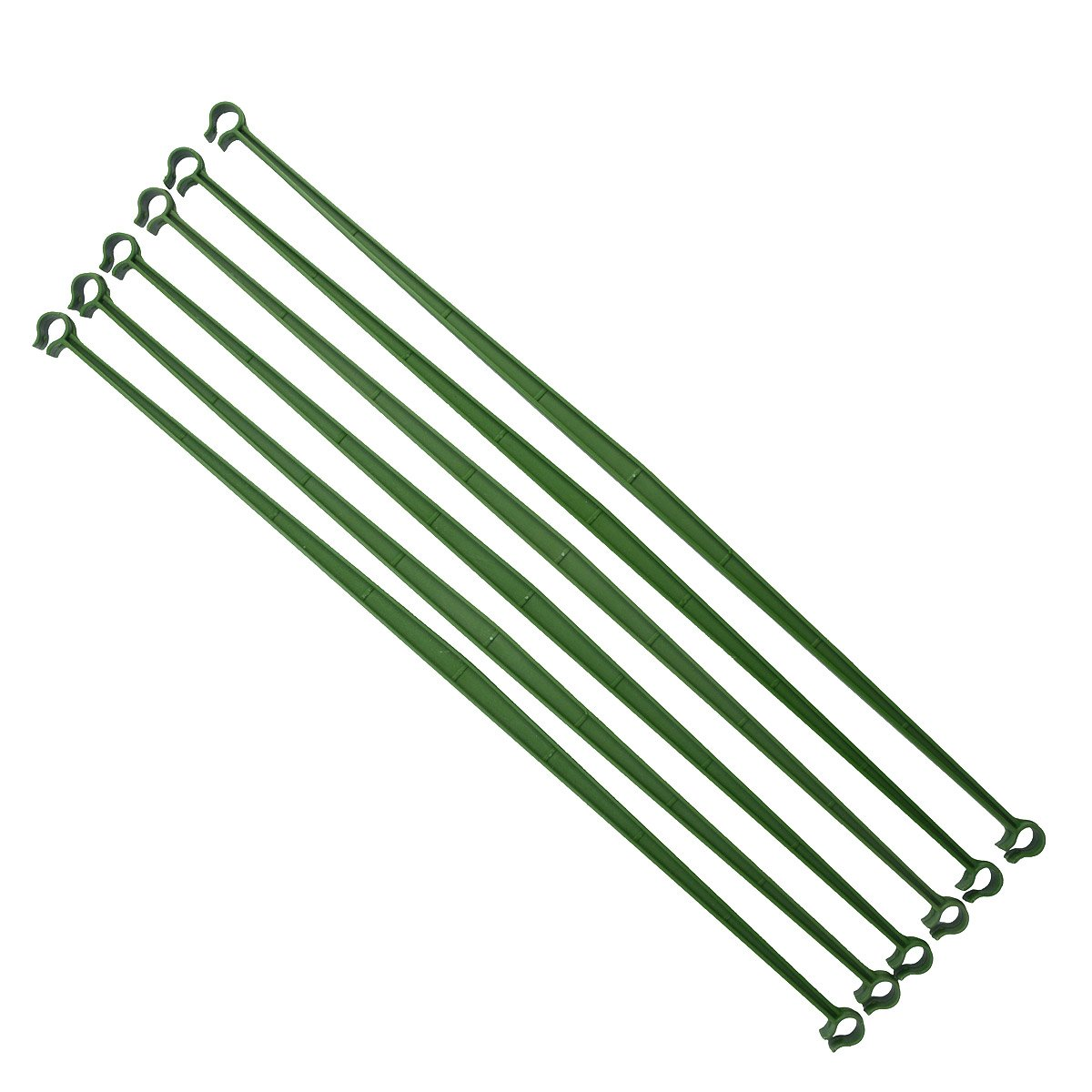 12Pcs Trellis Garden For Tomato Cage Connectors Attach Plant Stake Arms 18 Inches