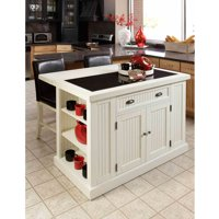 Home Styles Nantucket Sanded White Distressed Finish Furniture Collection