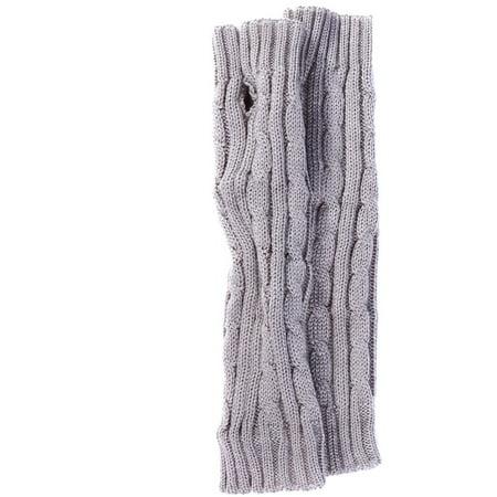 Simplicity Arm Warmer Womens Knitting Fingerless Long Gloves Light