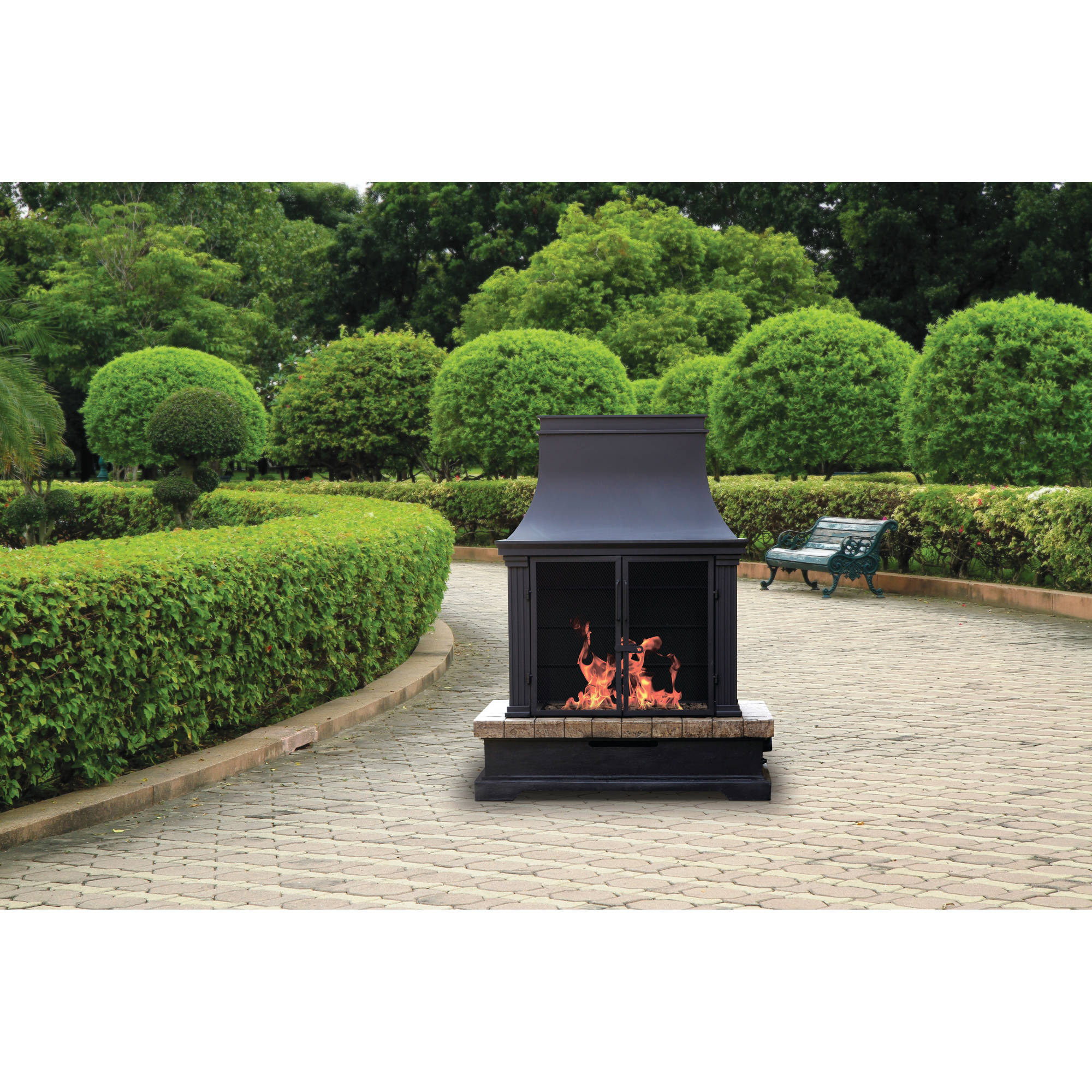 Bond Portofino Gas Fireplace Walmart Com
