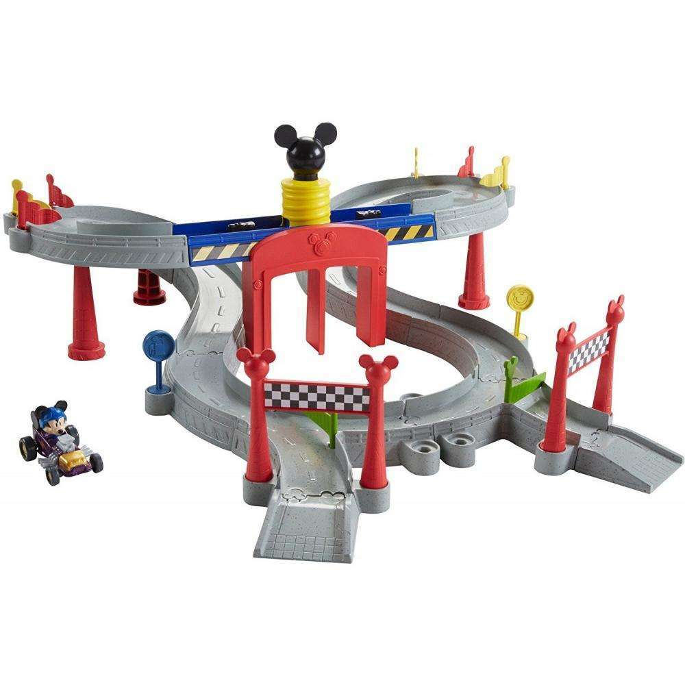 Disney Mickey Mouse Clubhouse Mickey Ears Raceway by FISHER-PRICE BRANDS A DIVISION OF MATTEL DIRECT IMPORT INC