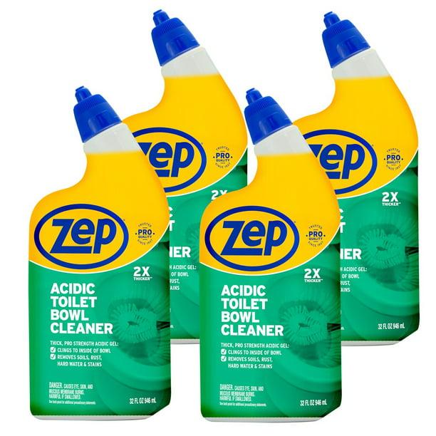 Zep New Acidic Toilet Bowl Cleaner 32 Ounces Zuatbc324