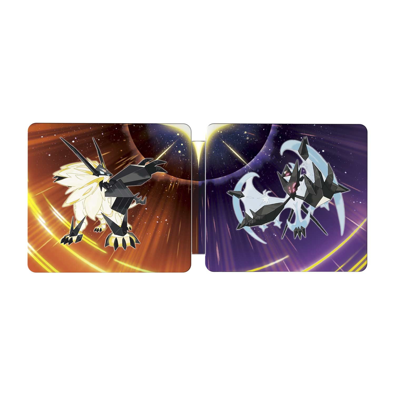 Pokemon Ultra Sun and Ultra Moon Steelbook Dual Pack - Nintendo 3DS