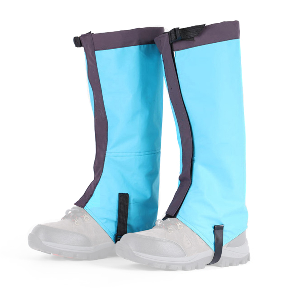 1 Pair Water Resistant Leg Gaiters Women Men Low Gaiters Leg Cover K2B0