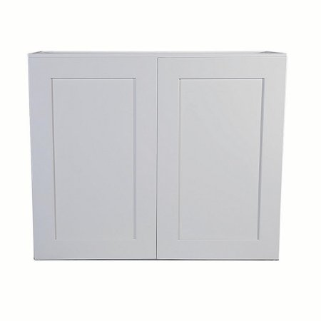 Design House 561613 Brookings Unassembled Shaker Tall Wall Kitchen Cabinet 36x24x12, - Shaker Wall Cupboard