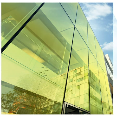 BDF CAYW Transparent Yellow Window Film by BuyDecorativeFilm