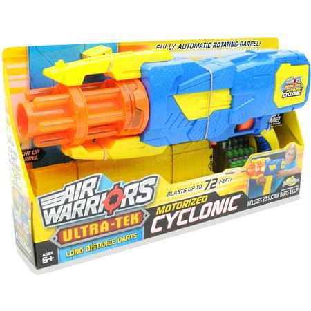 Air Warriors Ultra Tek Cyclonic Suction Dart - Air Blaster Toy