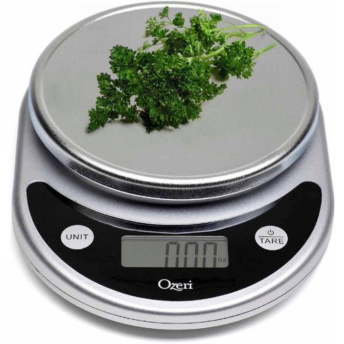 Ozeri Pronto Digital Multifunction Kitchen and Food Scale, Black