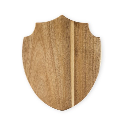 Cheeseboard Gift, Acacia Wood Shield Serving Cutting Rustic Cheese Board