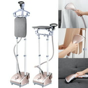 Garment Steamer, Heavy Duty Powerful Stand Clothes Fabric Steamer with Steamboard For Home and Commercial Use