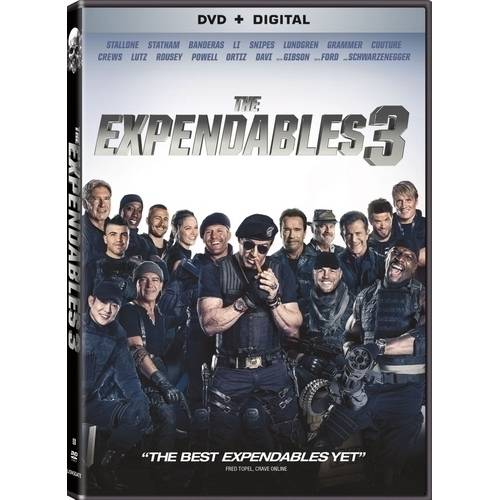The Expendables 3 (DVD + Digital Copy) (With INSTAWATCH) (Widescreen)