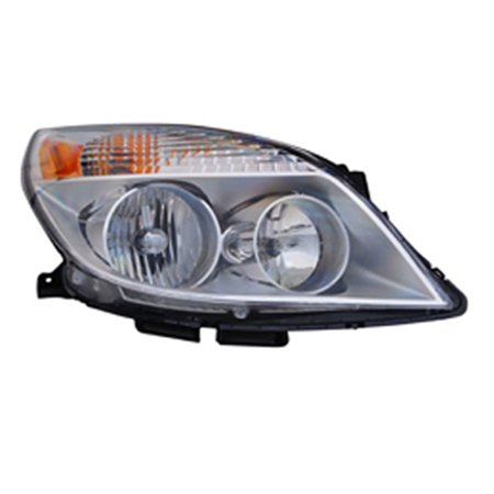 2008-2009 Saturn Aura  Aftermarket Passenger Side Front Head Lamp Assembly - Saturn Aura Sedan