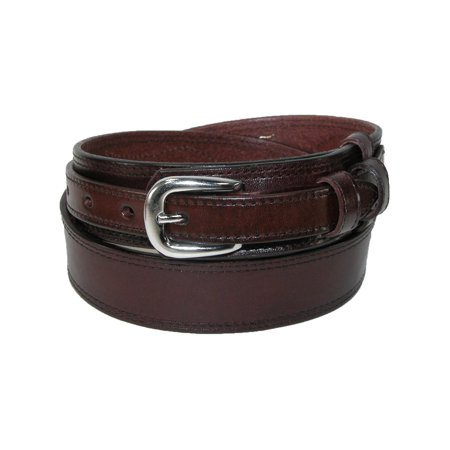 Men's Leather Removable Buckle Ranger Belt (Ranger Belt Buckle)