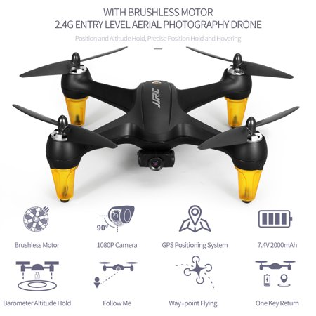 JJR/C X3P 5G Wifi Brushless Drone with Camera 1080P Wide Angle Aerial Photography FPV Follow Mode Way-point Point of Interest Fly