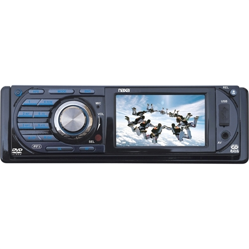 "NAXA Car DVD Player - 3"" LCD - 16:9 - 160 W RMS NCD-691"