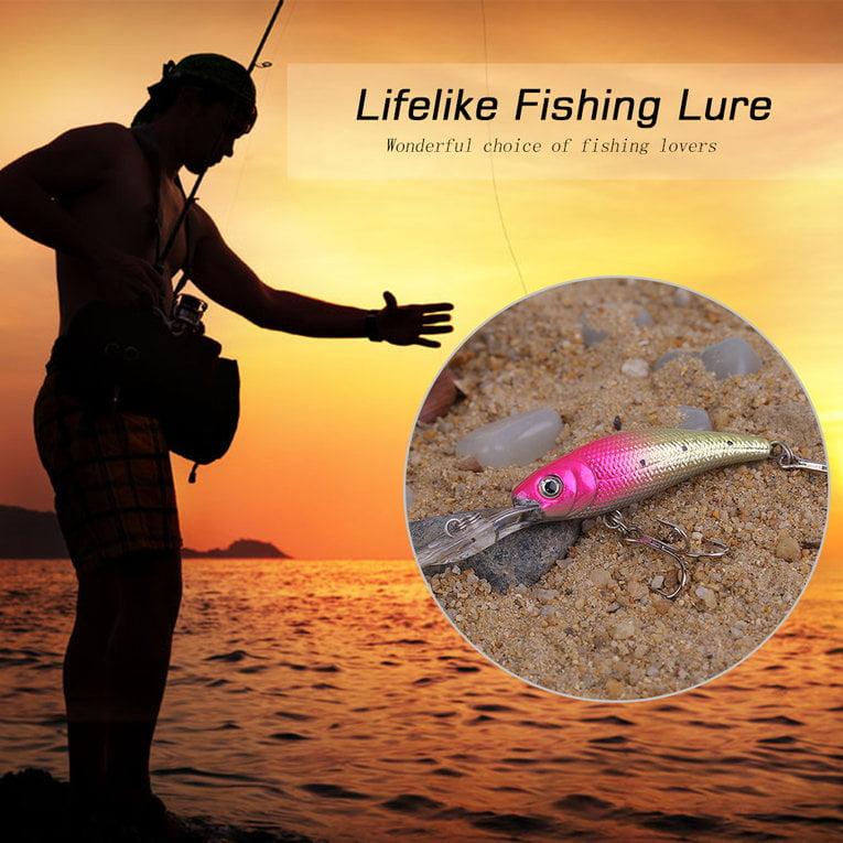 Fishing Wobblers Lifelike Fishing Lure Swimbait Hard Bait Artificial Lures by