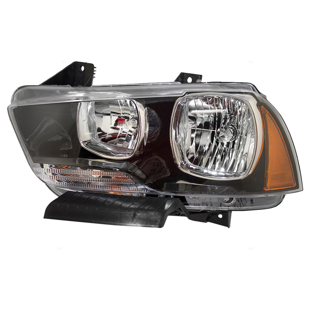 Drivers Halogen Headlight Headlamp Replacement for Dodge 57010411AC