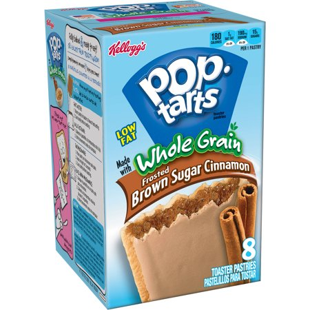Kellogg's Pop-Tarts Frosted Brown Sugar Cinnamon Low Fat, 8 count ...