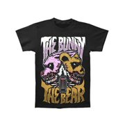Bunny The Bear Men's  I'm Scared Now T-shirt Black