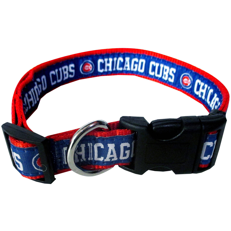Pets First MLB Chicago Cubs Pet Collar