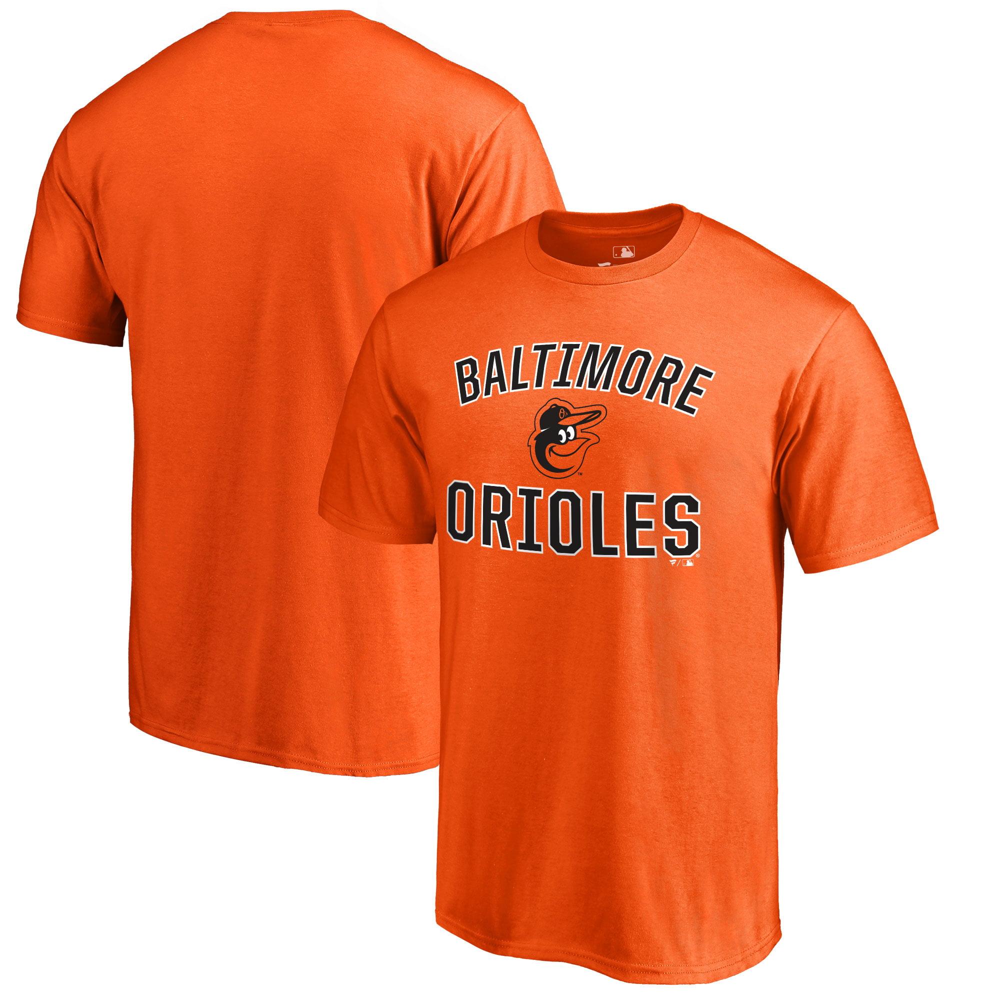 Baltimore Orioles Victory Arch T-Shirt - Orange