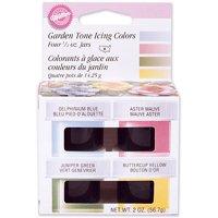 Icing Colors 1/2 Ounce 4/Pkg Garden Tone