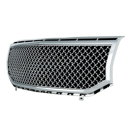 EAG 07-14 Lincoln Navigator Mesh Grille Chrome ABS Replacement Grill With Shell (41-0110) Abs Grille Shell