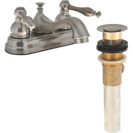 Premier Faucet Wellington Double Scroll Handle Bathroom (Double H Wellington)