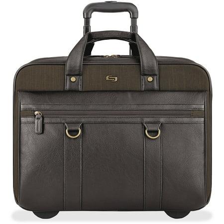 "Solo, USLEXE9353, US Luggage Bradford 17.3"" Rolling Case, 1, Olive Green"