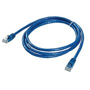 Ziotek 119 5277 CAT6 Patch Cable, with Boot 5ft, Blue