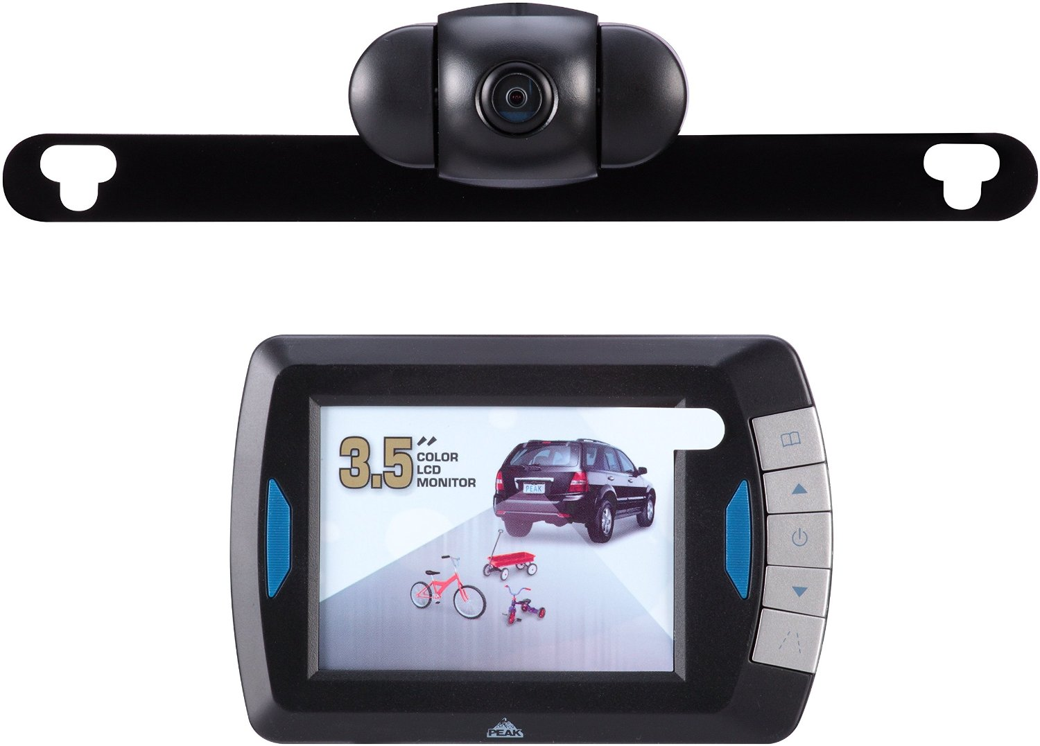 Peak PKC0RB 3.5-Inch Wireless Back-Up Camera with Full 3-1/2\