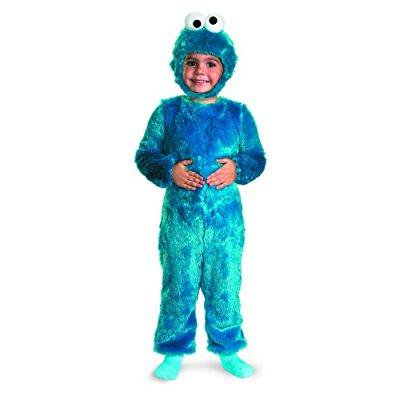 cookie monster comfy fur costume - medium (3t-4t)](Comedy Costumes)