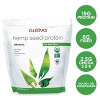 Nutiva Organic Hemp Protein Powder, Unflavored, 15g Protein, 3.0lbs