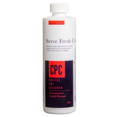 Coffee Pot Cleaner - Commercial Grade - 16.9 oz Bottle