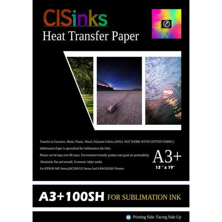 CISinks A3+ Sublimation Ink Transfer Paper 13