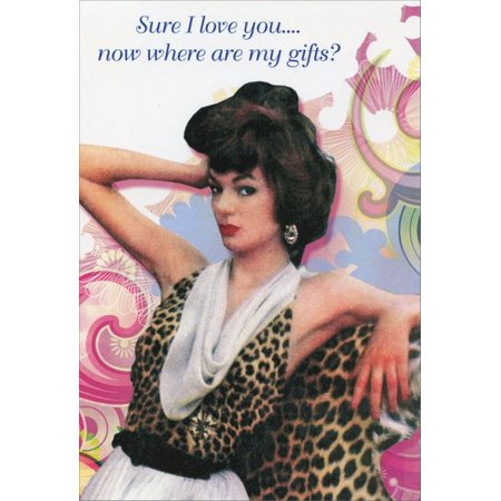 Nobleworks Where Are My Gifts? Funny / Humorous Birthday Card - Walmart.com