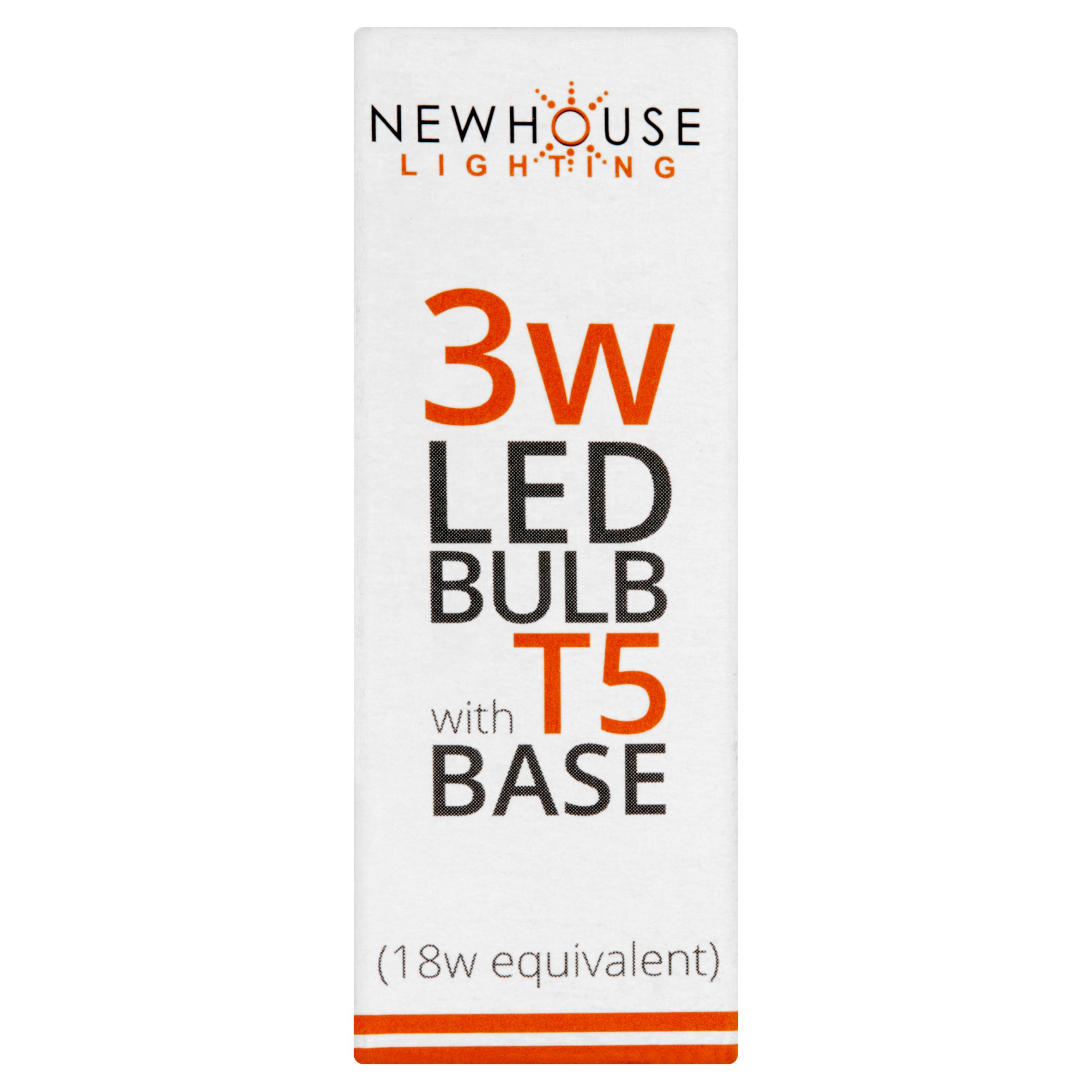 Newhouse Lighting 3w LED Bulb with T5 Base