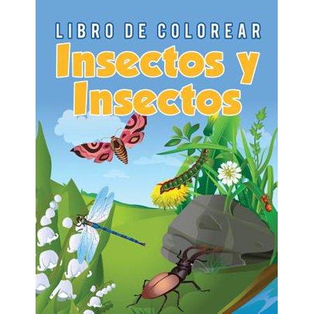 Libro de Colorear Insectos y Insectos - Halloween Colorear