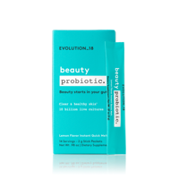 EVOLUTION_18 Probiotic Beauty Blend Quick Melt, Lemon, 14 Servings
