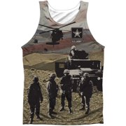 U.S. Army Men's  Values Mens Tank White